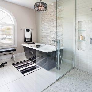 Réaménagement tendance pour la salle de bain
