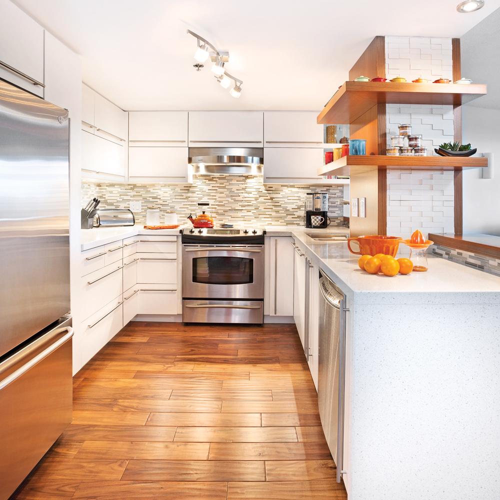 Un espace cuisine décloisonné
