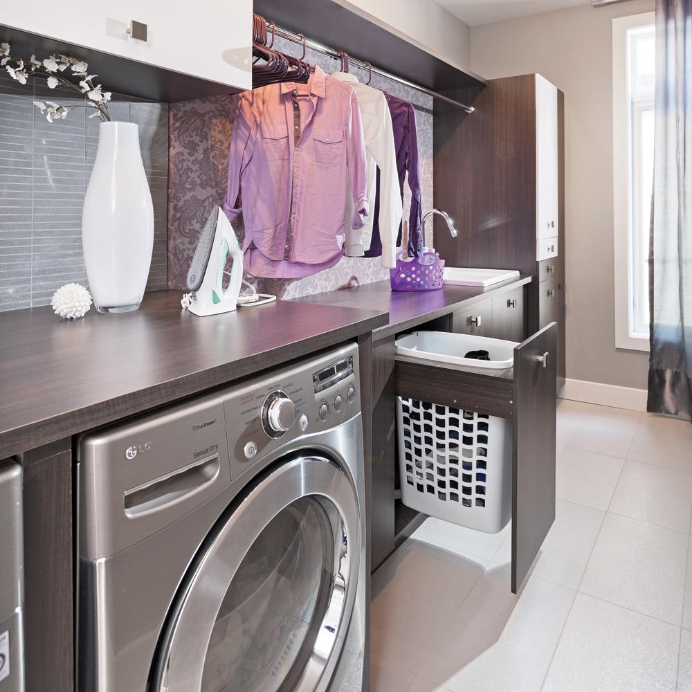 Modelle Salle De Bain un modèle d'organisation dans la salle de lavage - je décore