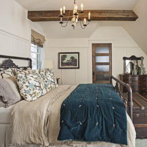 Chambre : un habillage de lit qui sort de l'ordinaire!