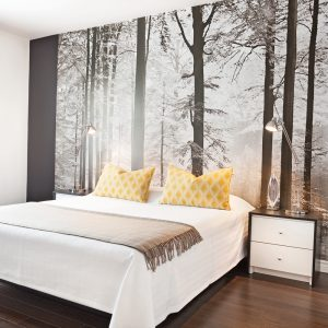 Oser la murale grand format dans la chambre