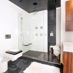 Une salle de bain au masculin
