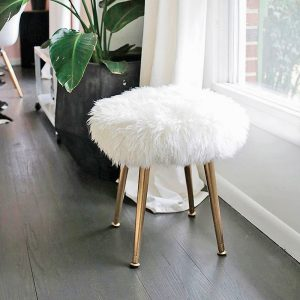 DIY – Tabouret en fourrure