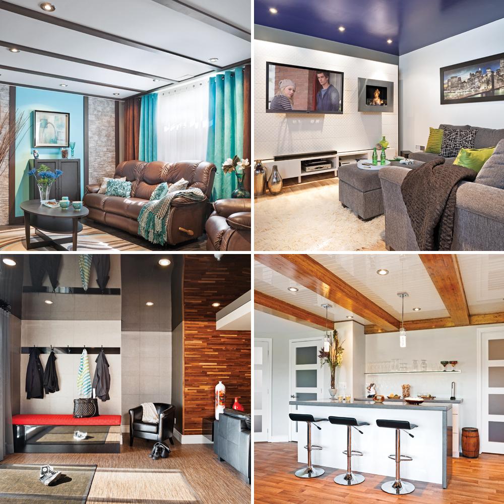 Couleur Plafond Pour Agrandir Piece sous-sol – 5 plafonds plein de style - je décore