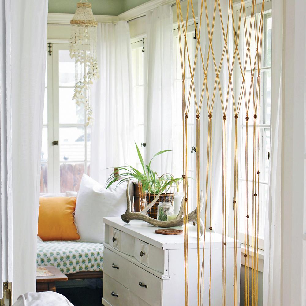 DIY — Rideau minimaliste façon macramé