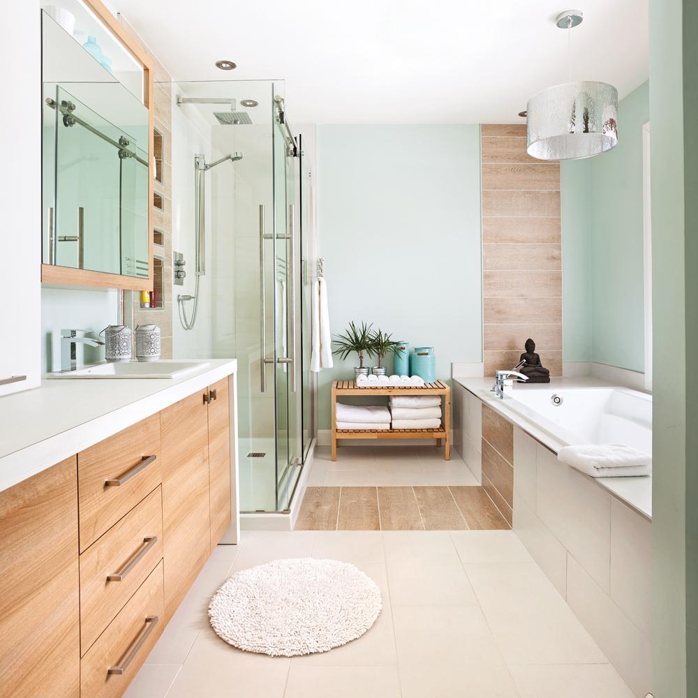 Salle de bain d\'inspiration spa zen - Je Décore