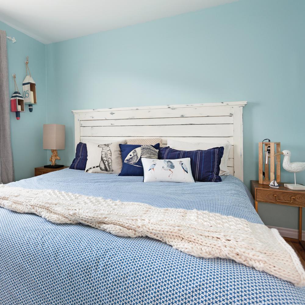 Une chambre au style bord de mer - Je Décore
