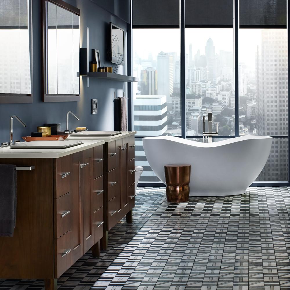 Une salle de bain au coeur de la ville je d core - Je decore salle de bain ...