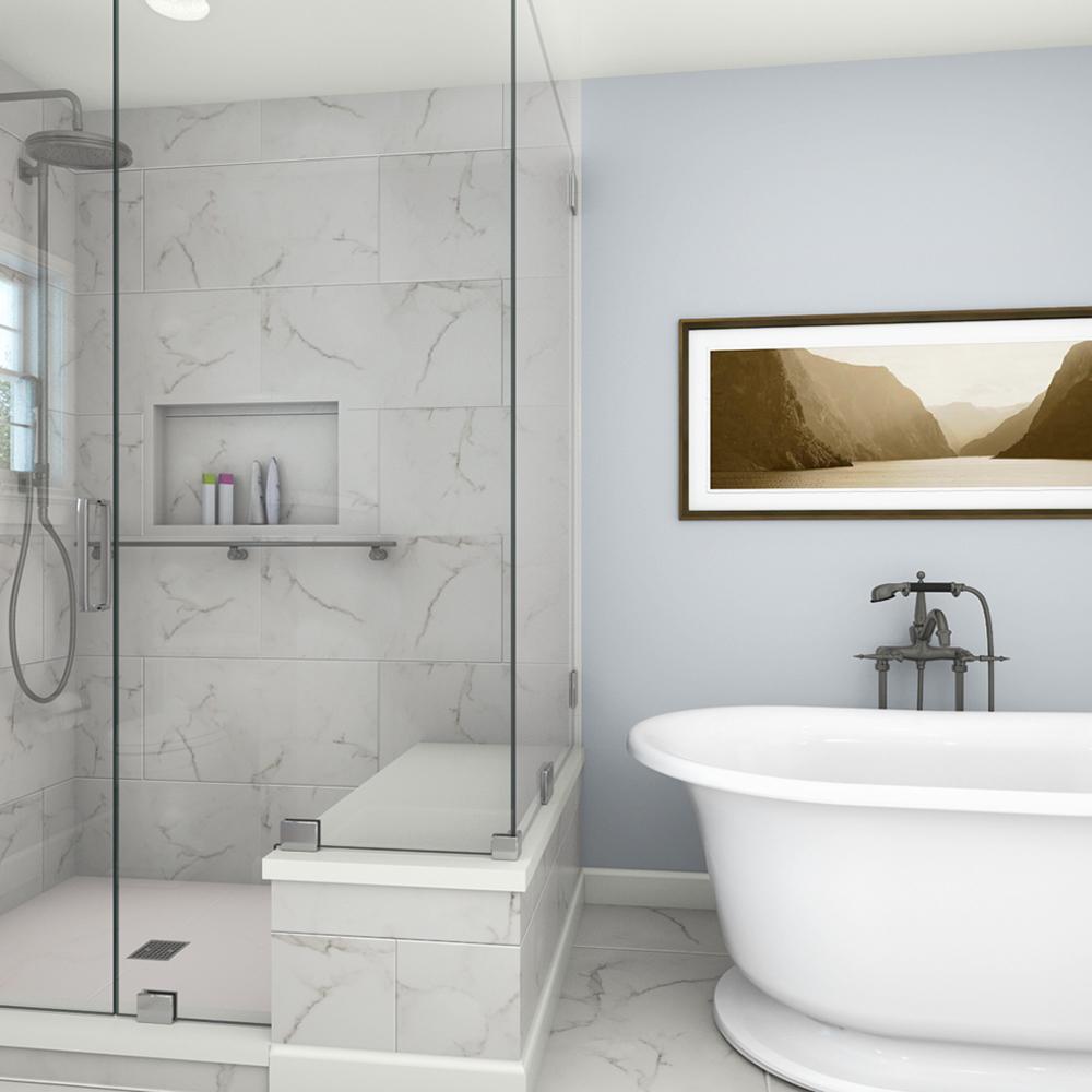 La douceur du pastel pour la salle de bain