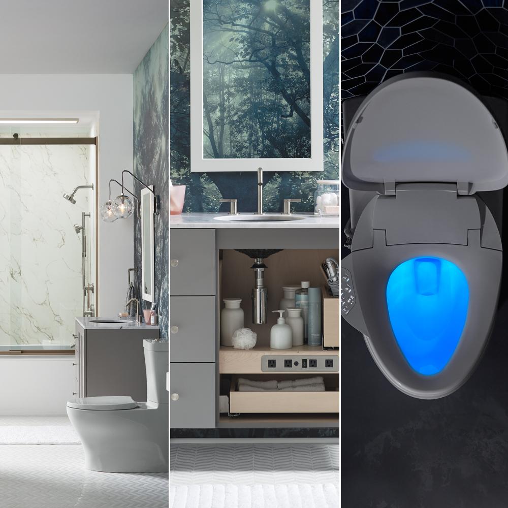 5 tapes pour concevoir une salle de bain pour les invit s - Concevoir salle de bain ...