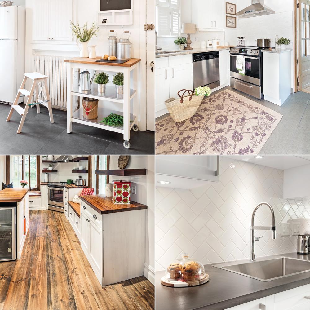 Comment Installer Un Comptoir De Cuisine 20 idées pas chères pour donner du style à la cuisine - je
