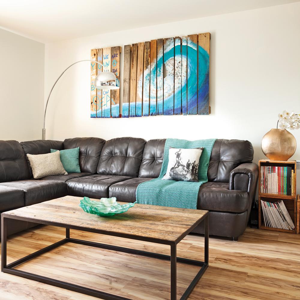 Bois de palette – De l'art pour le salon
