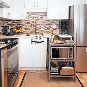 Mobilier multifonctionnel dans la cuisine