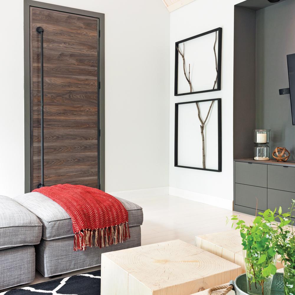 fabriquer un cadre simplissime avec des branchages je d core. Black Bedroom Furniture Sets. Home Design Ideas