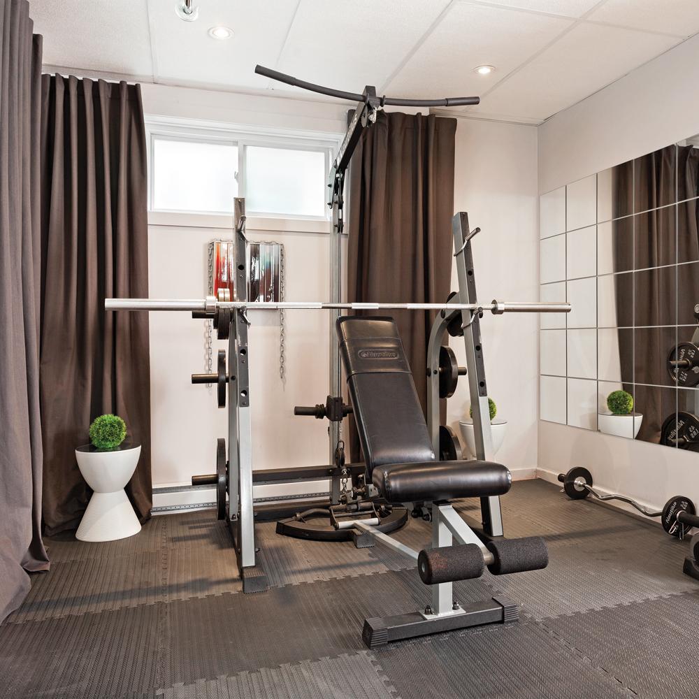aménagement gym maison