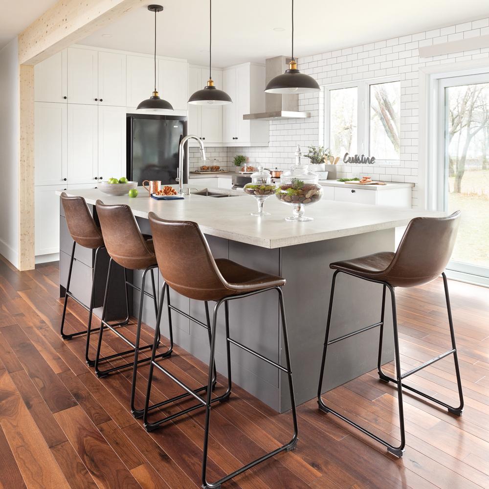 Cuisine de style farmhouse moderne