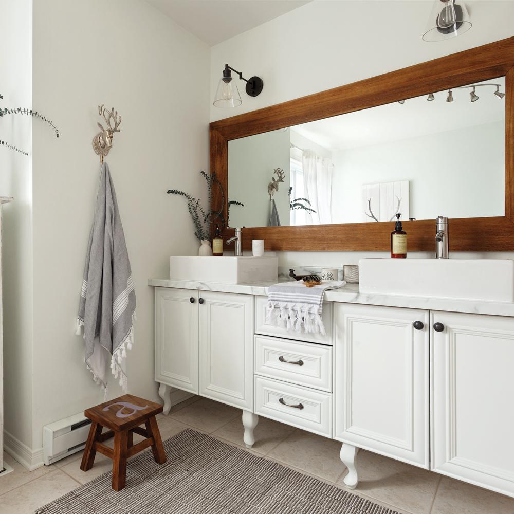 Salle de bain de style farmhouse