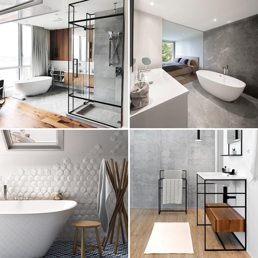 Les tendances 2018 pour la salle de bain en 10 décors - Je ...