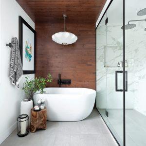 Salle de bain style spa