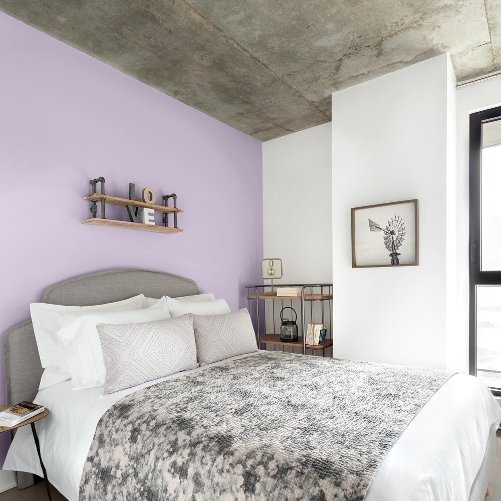 Les Couleurs Des Chambres 2018 couleur lavande pour la chambre - je décore