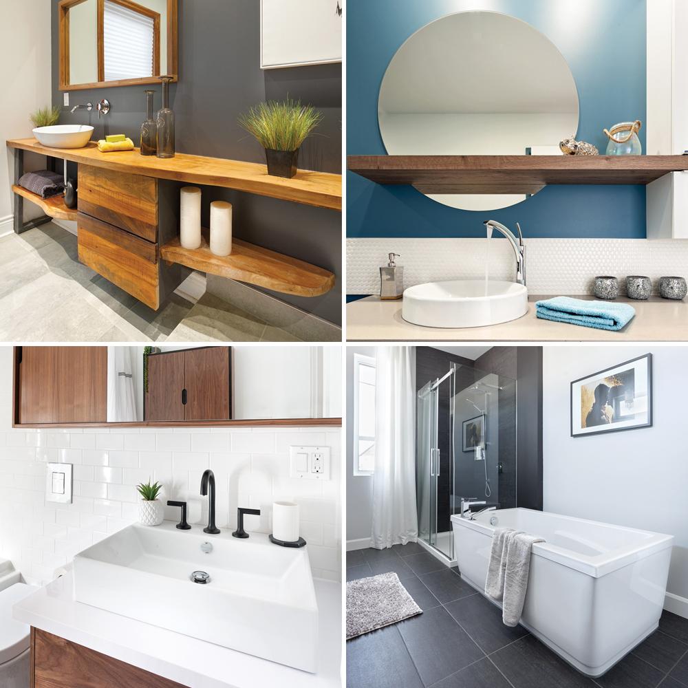 Repeindre Meuble Cuisine Rustique 15 idées inspirantes pour relooker sa salle de bain à petit