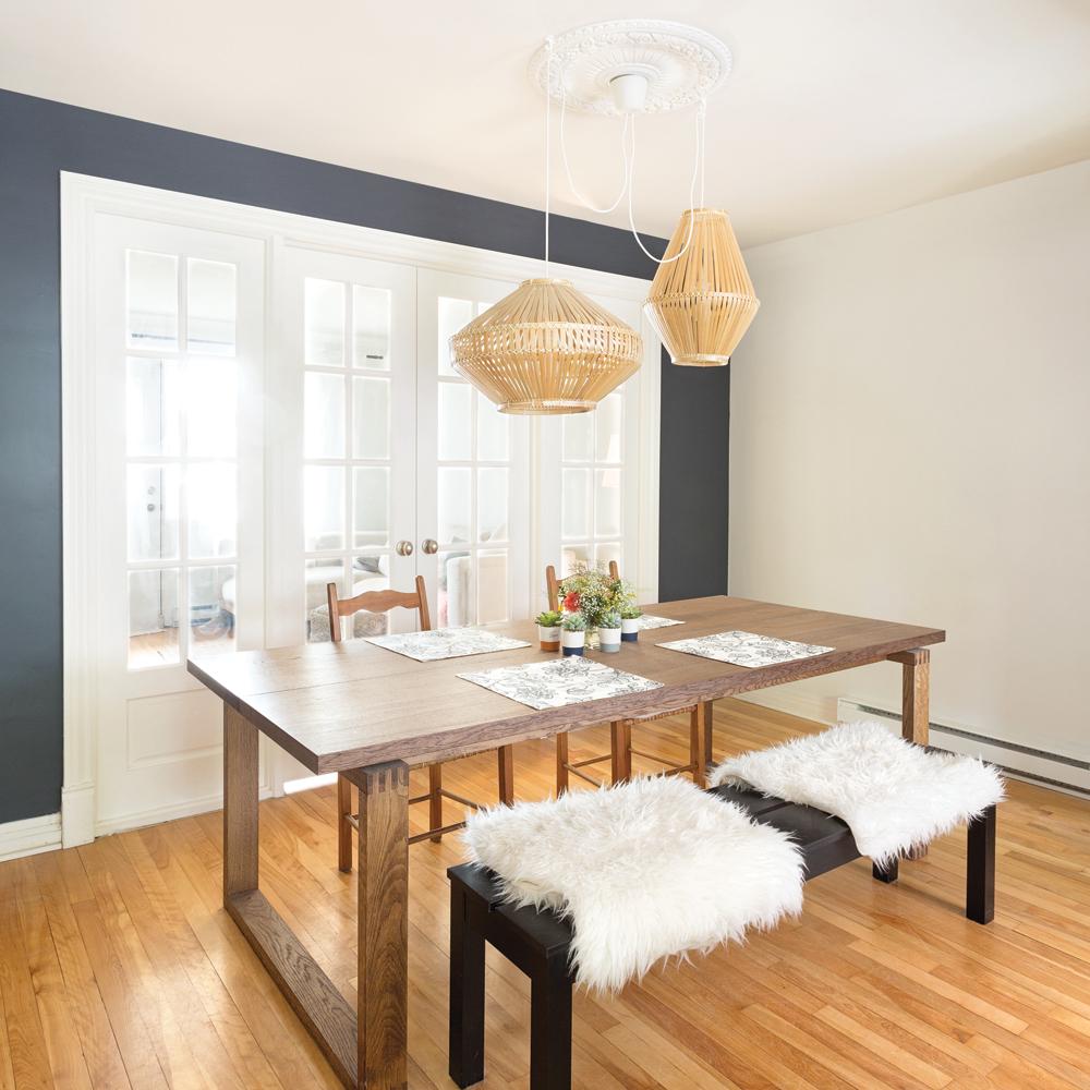 salle manger intemporelle aux accents vintage je d core. Black Bedroom Furniture Sets. Home Design Ideas