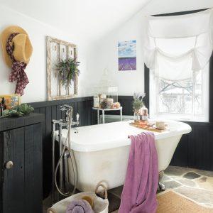 Voyage déco: Donner un charme provençal à la salle de bain