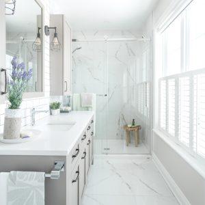 Splendeur immaculée dans la salle de bain
