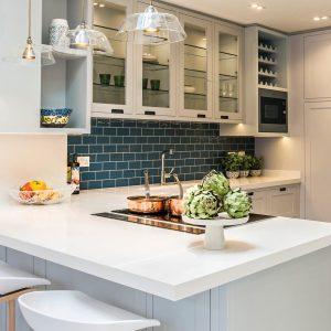 Chaleureuse modernité dans la cuisine