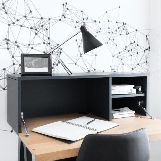 Murale stellaire pour le coin-bureau