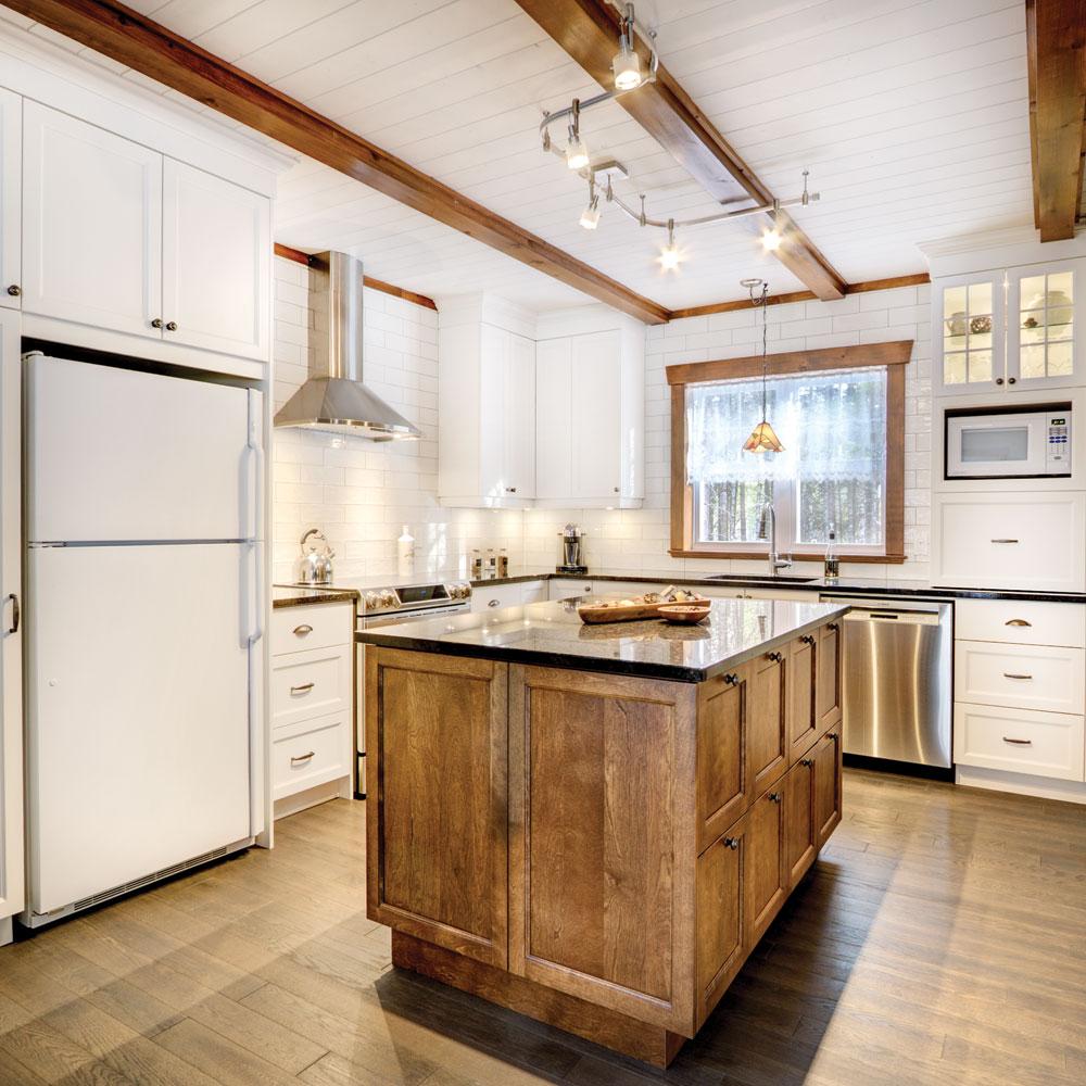 Esprit farmhouse dans la cuisine