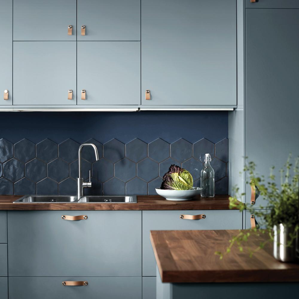 Tendance: Armoires bleues dans la cuisine