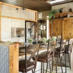 Mariage du passé et du présent dans la cuisine