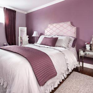 Décor tendre et romantique pour la chambre à coucher