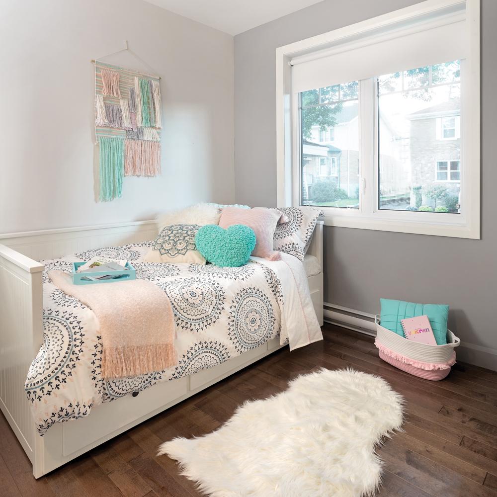 Chambre de fille aux couleurs pastel - Je Décore