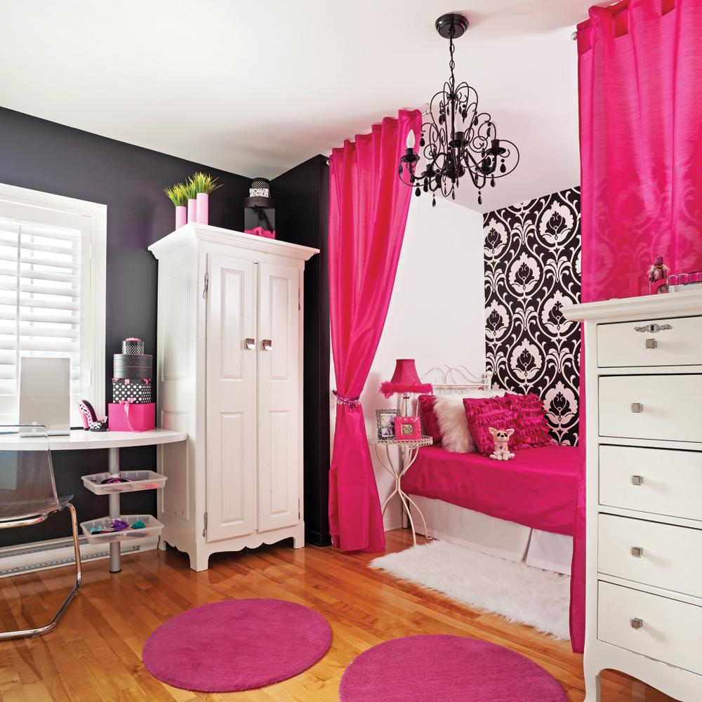 Contrastes de couleurs et mobilier original de style baroque pour ...