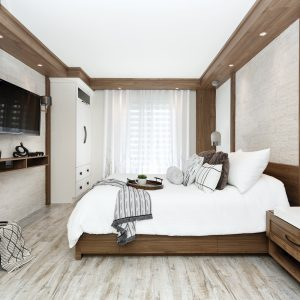Rénovation contemporaine pour la chambre à coucher