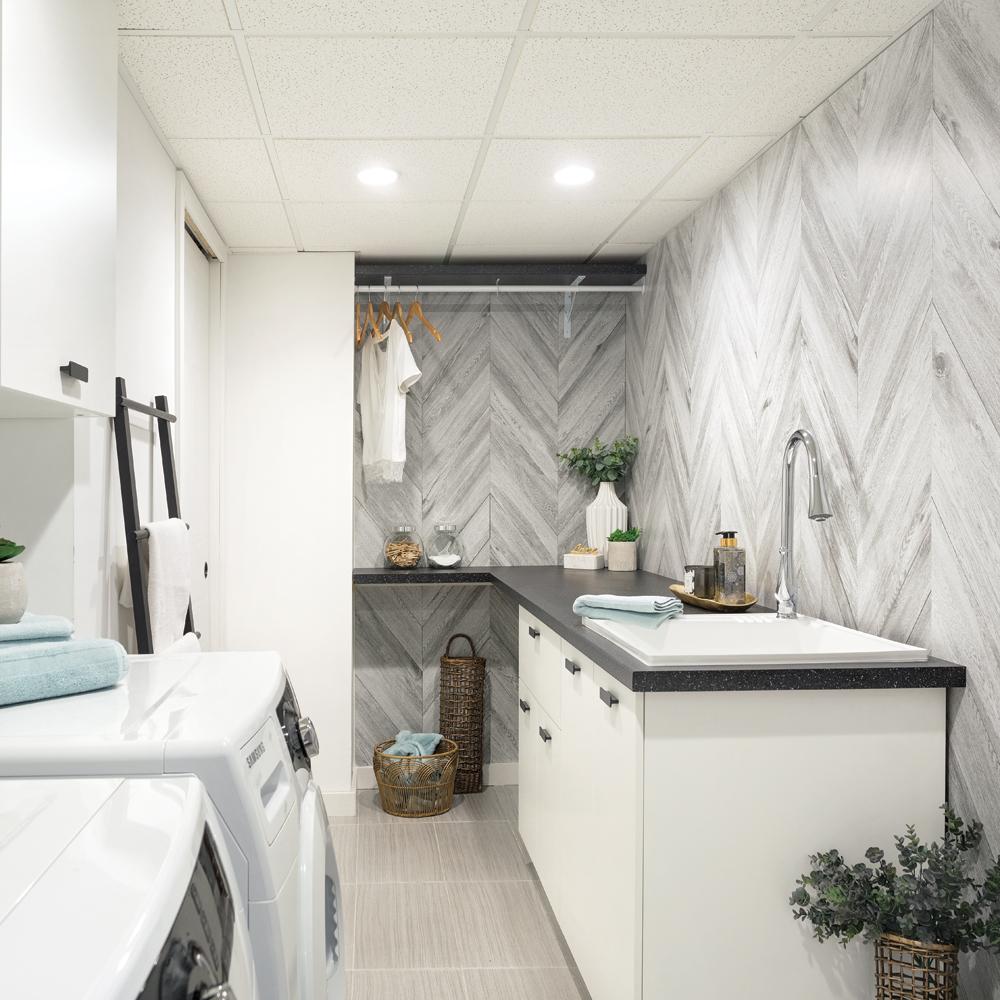Une salle de lavage revitalisée par Cynthia