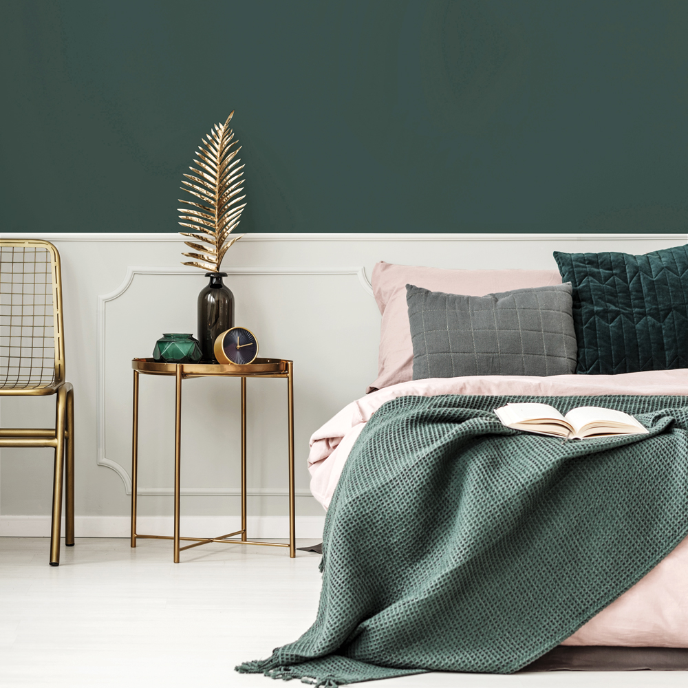 Vert Forêt Pour La Chambre à Coucher