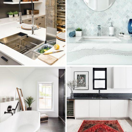 Top 10 des tendances pour la cuisine et la salle de bain