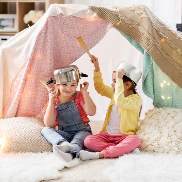 5 idées pour faire des cabanes ultracool!