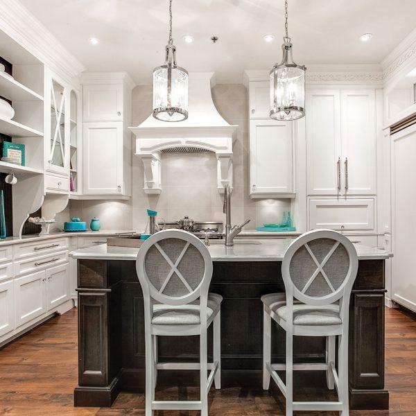 Tendances : Les cuisines blanches, toujours au top!