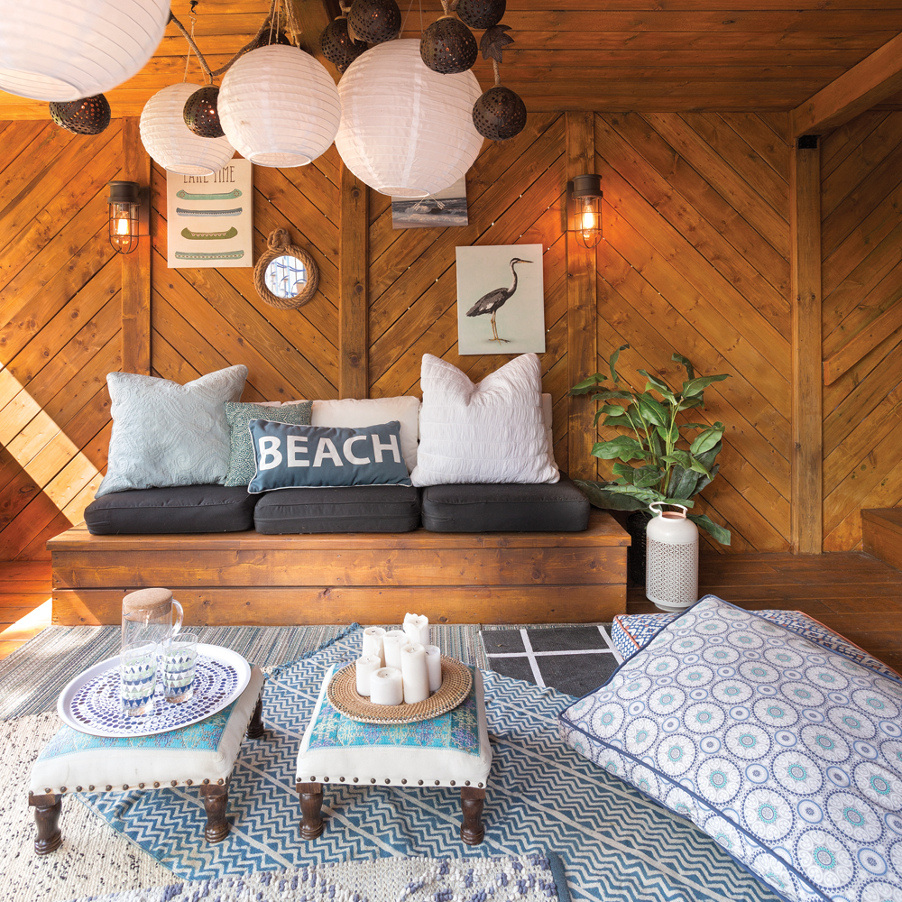 Voyage déco : Surf shack californien