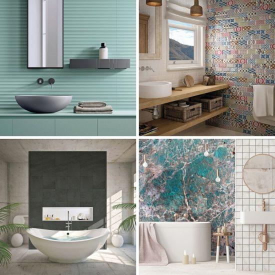 10 tendances coup de coeur pour la salle de bain