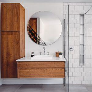 Salle de bain inspirée par la nature