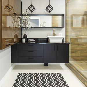Meuble-lavabo élégant et contemporain
