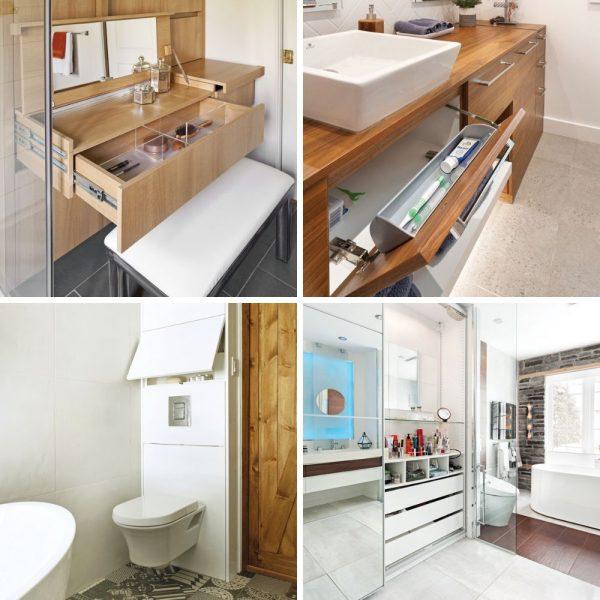 14 idées pour mettre de l'ordre dans votre salle de bain