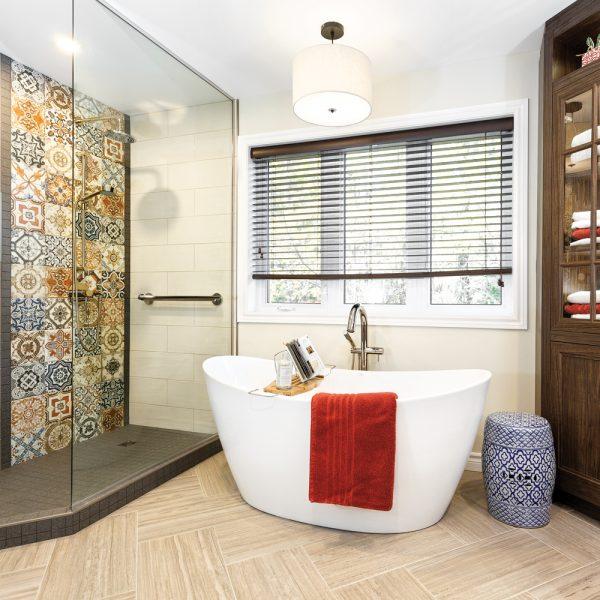 Avant-après: salle de bain personnalisée