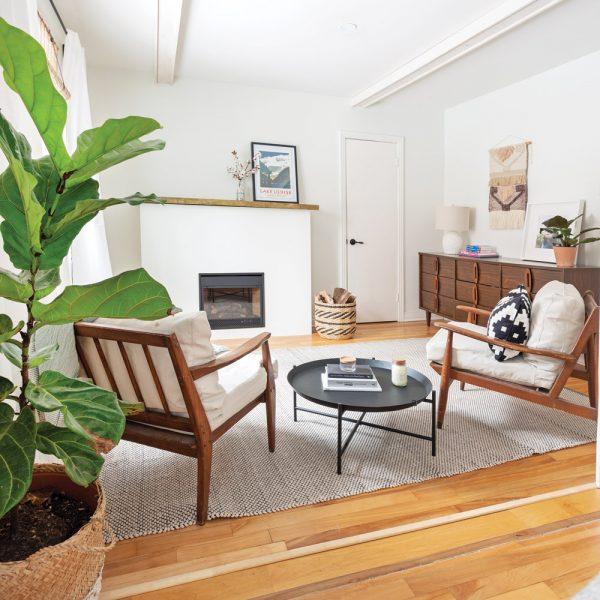 Visite pièce par pièce : Un appartement à l'ambiance hygge