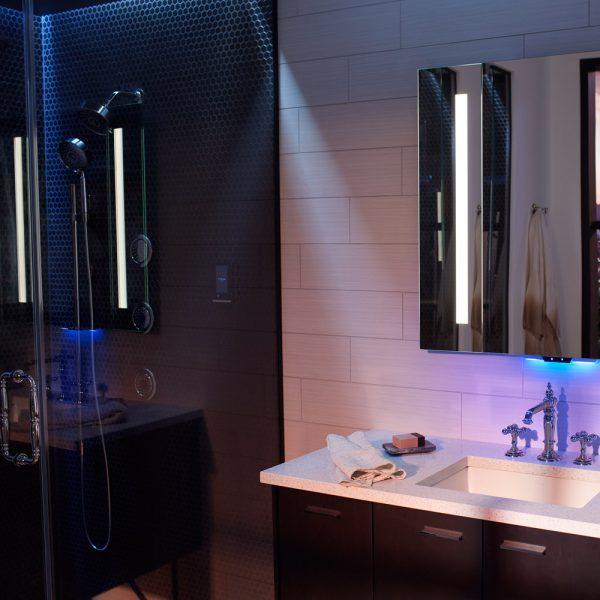 Une salle de bain connectée pour un confort absolu